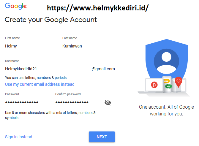 cara membuat gmail tanpa verifikasi