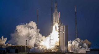 India launches communication satellite