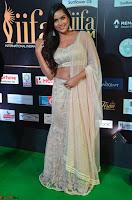 Prajna Actress in backless Cream Choli and transparent saree at IIFA Utsavam Awards 2017 0001.JPG