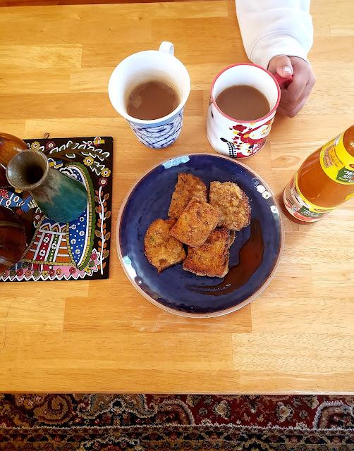Doma wang's prawn toast