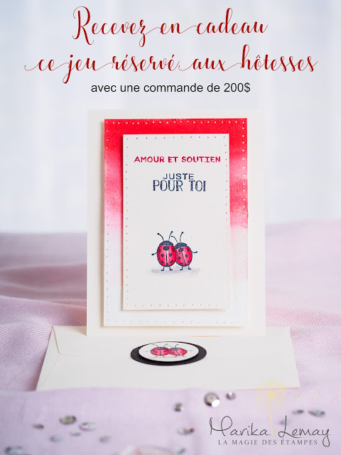 carte avec le jeu love you lots