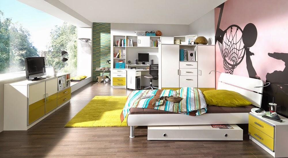 hermosa habitación juvenil