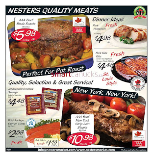 Nesters Market Flyer August 20 – 26, 2017