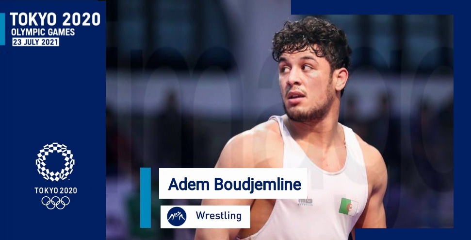 المصارع آدم بوجملين يتأهل إلى الألعاب الأولمبية