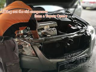 Toyota Camry ACV41 Air-cond Compressor