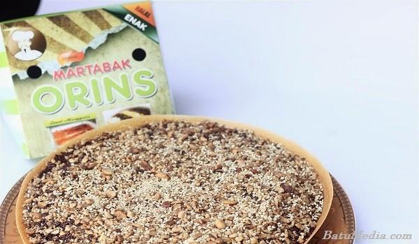 Martabak Orins Coklat Kacang Wijen