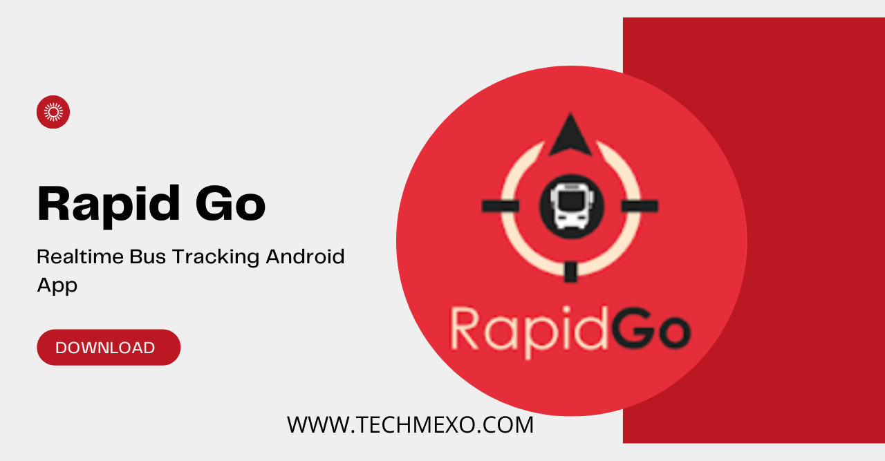 Realtime Bus Tracking Android App - Rapid Go