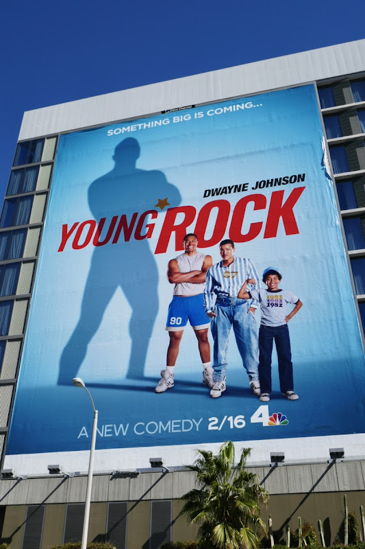 Giant Young Rock season 1 billboard