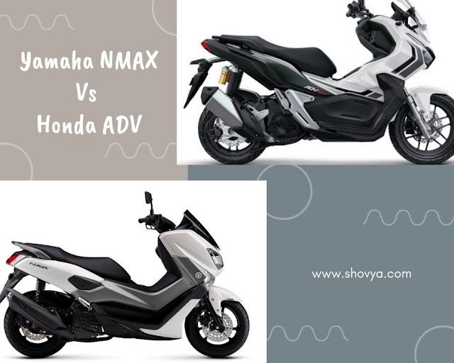 Yamaha NMAX dan Honda ADV