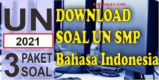 soal ujian nasional bahasa indonesia smp