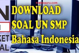 Latian Soal Ujian Nasional Bahasa Indonesia SMP/MTS Tahun 2021