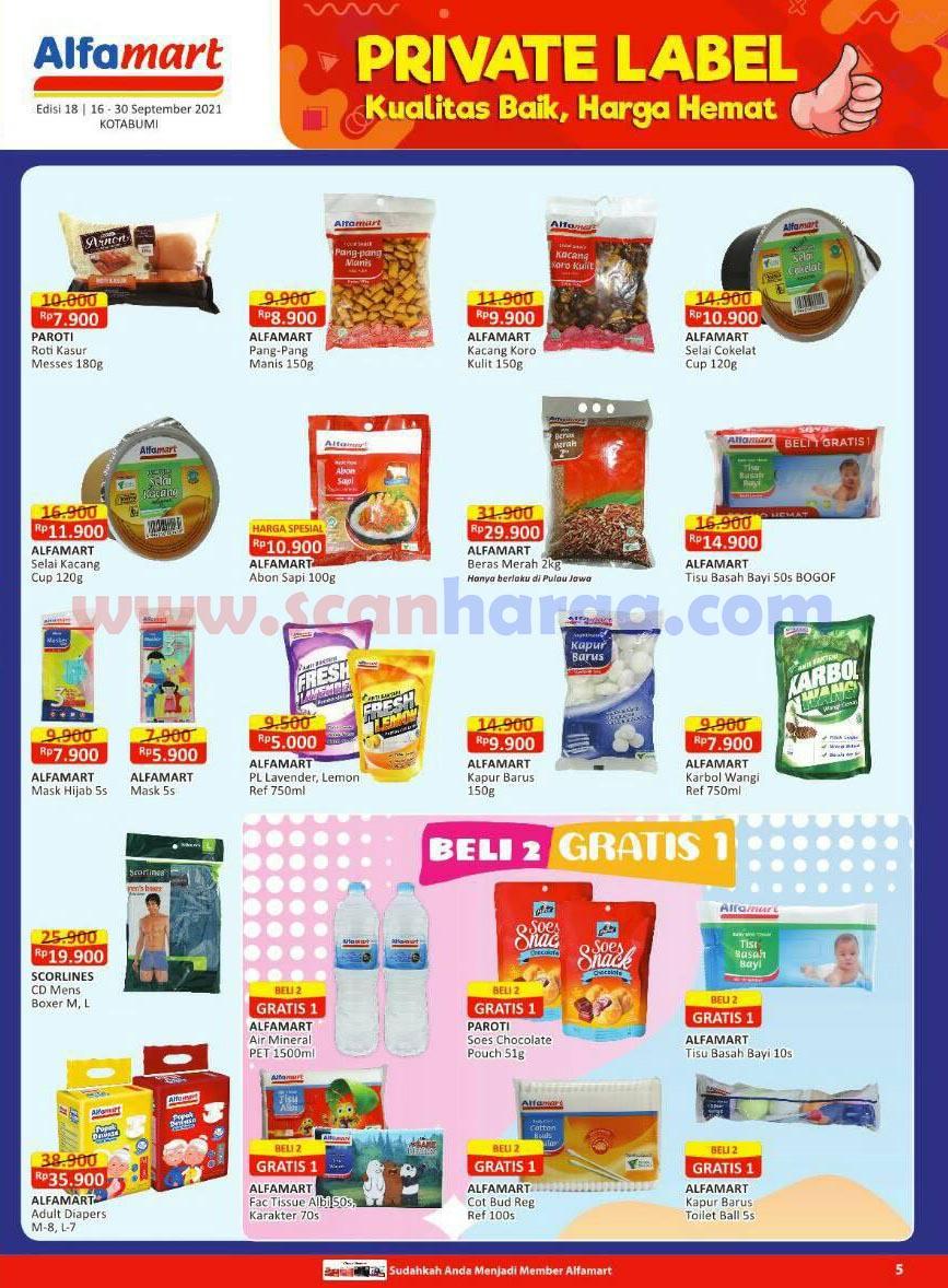 Katalog Alfamart Promo Terbaru 16 - 30 September 2021 6