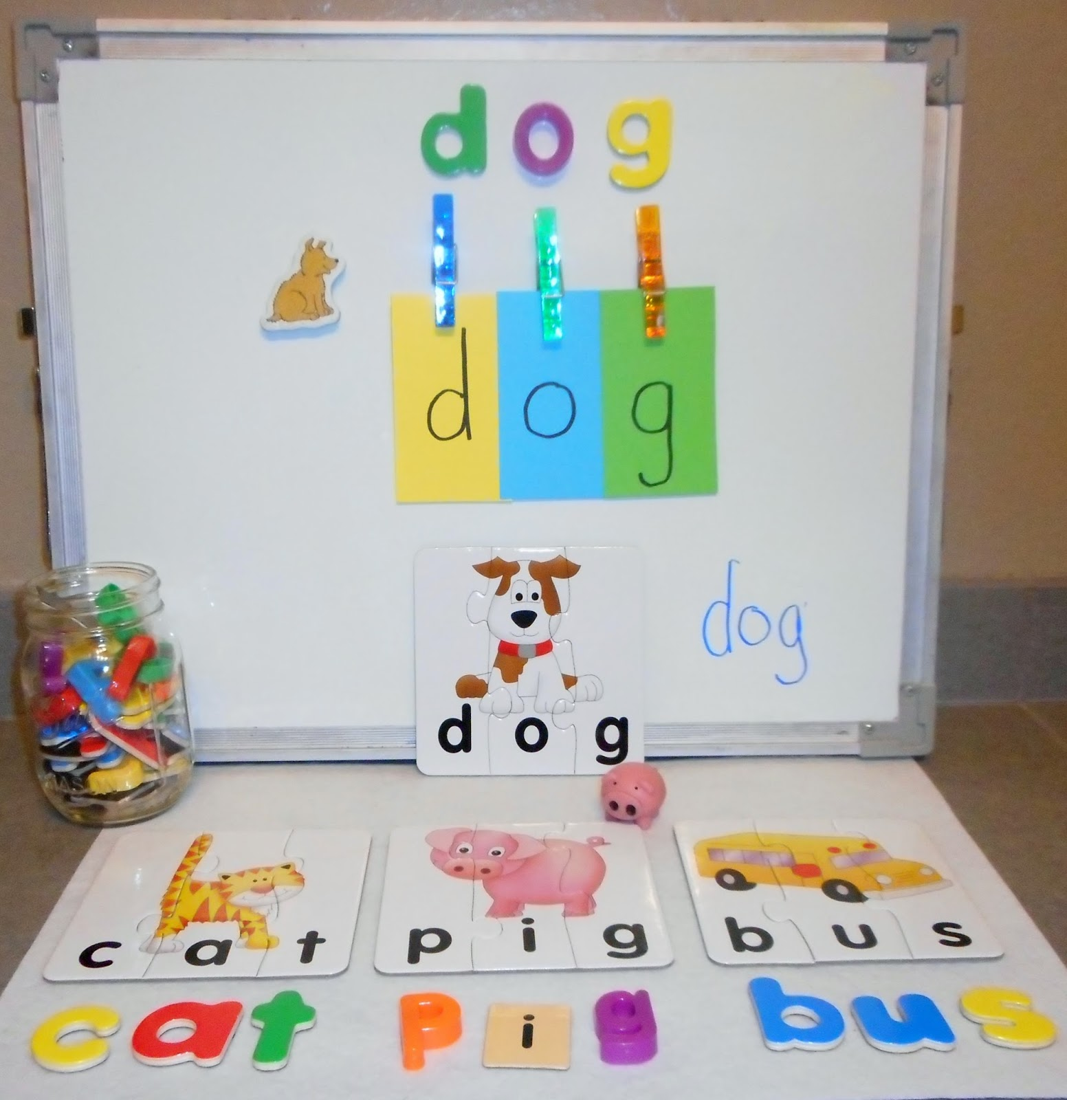 Reading2success Blending Three Letter Short Vowel Words