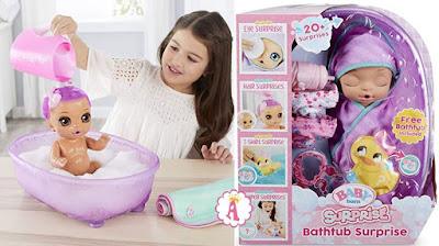 Baby Born Bathtub Surprise
