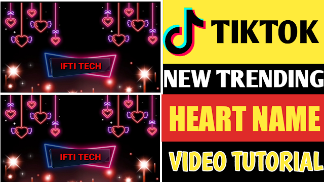 How To Create Tiktok Name Video