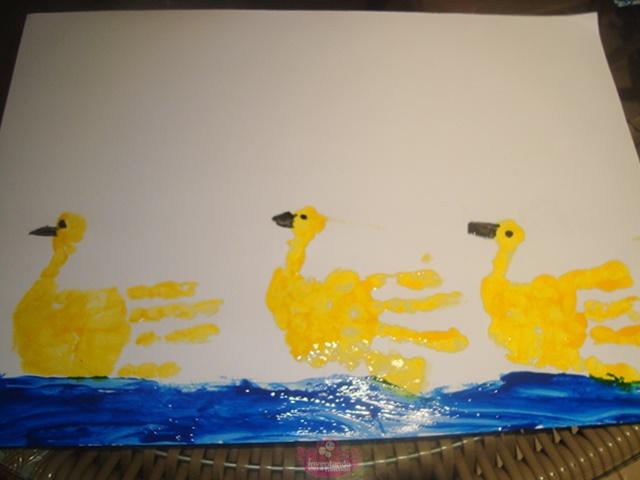 Pintura com as mãos para crianças - dicas de desenhos