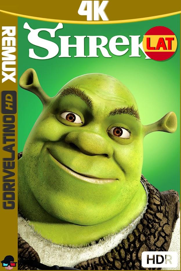 Shrek (2001) BDRemux 4K HDR Latino-Ingles MKV
