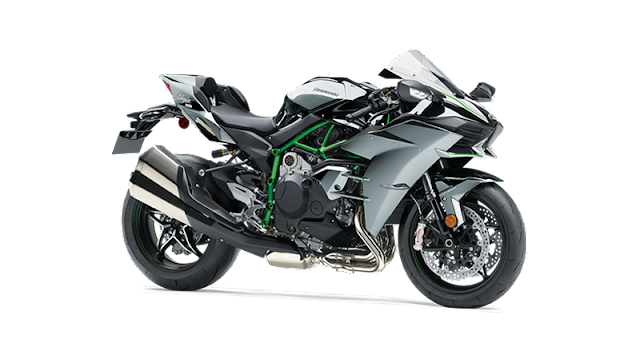 Kawasaki H2 dibekali dengan mesin dengan jenis 4 tak bersilinder dengan jumlah 4 dengan konruksi sejajar dan tegak satu garis.