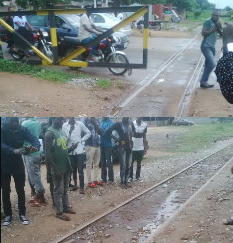 man crushed train makurdi