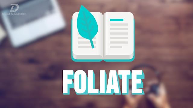 Foliate, um leitor simples e moderno de ebooks