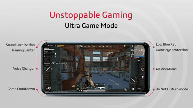Vivo U10's Ultra Game Mode