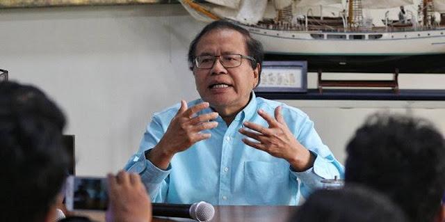 Rizal Ramli ke Pemerintah: Menyelesaikan Masalah Corona Kok Pakai Buzzer?