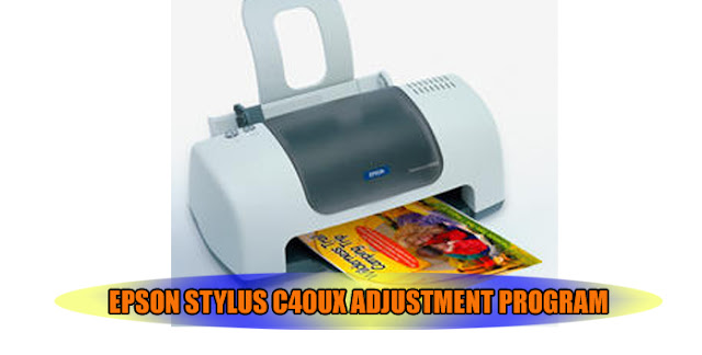 Epson Stylus C40UX Printer Adjustment Program