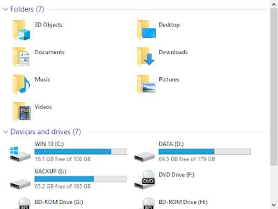 Mở rộng dung lượng lưu trữ ổ C - Windows