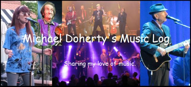 Michael Doherty's Music Log