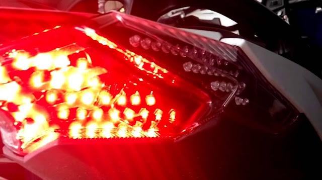 3 Penyebab Lampu Rem Belakang Sepeda Motor Tidak Menyala