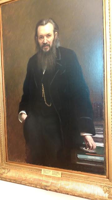 "И.Н. Крамской ""Портрет писателя и публициста Суворина"", 1881 г."