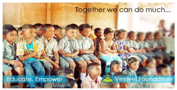 KALVISOLAI - கல்விச்சோலை - kalvisolai vetrivel foundation வெற்றிவேல் அறக்கட்டளை