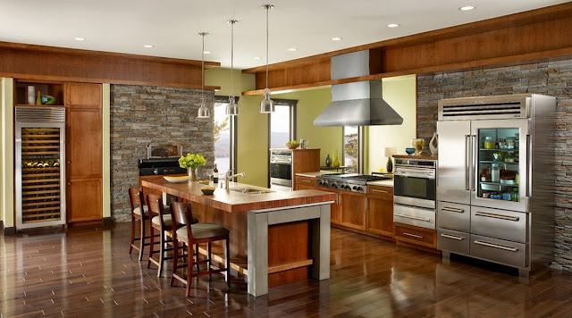 Best Cuisine Moderne Maison Rustique Contemporary - Matkin.info ...