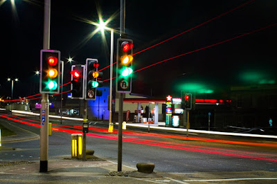 Ilustrasi traffic light atau APILL. Foto : pixabay.