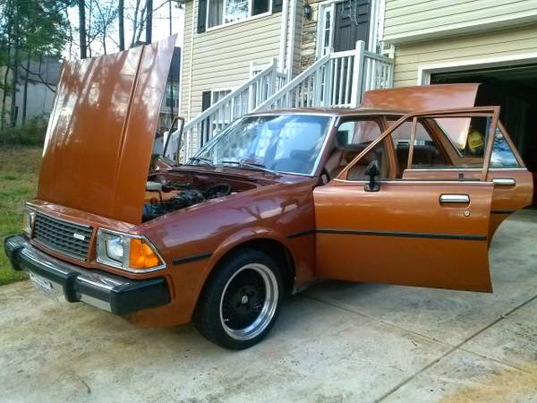 1980 Mazda 626 Capella Auto Restorationice