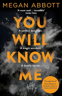 book cover - title in orange writing on a smoke filled black background
