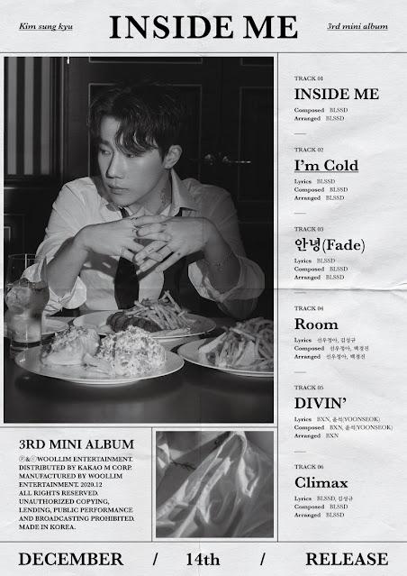 sungkyu tracklist inside me