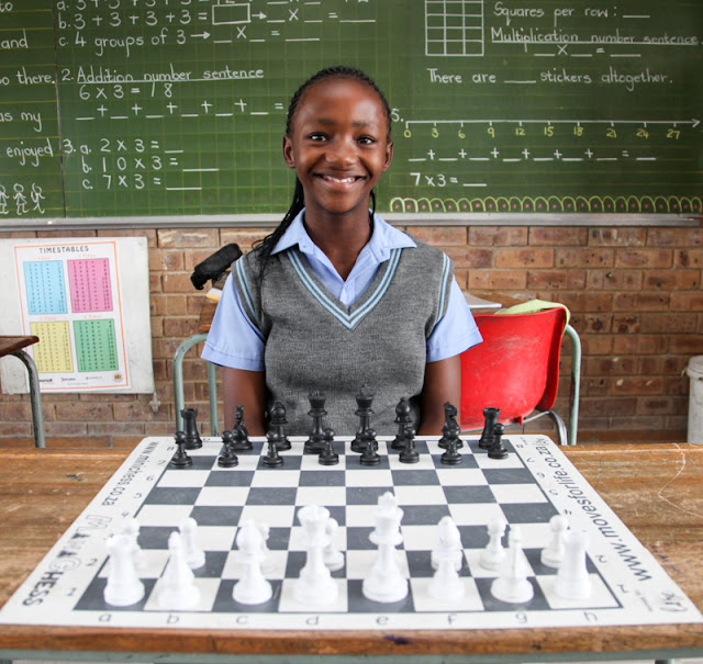 Diepsloot Girls Play At The National #Chess Championship @MonteCasinoZA @TsogoSun