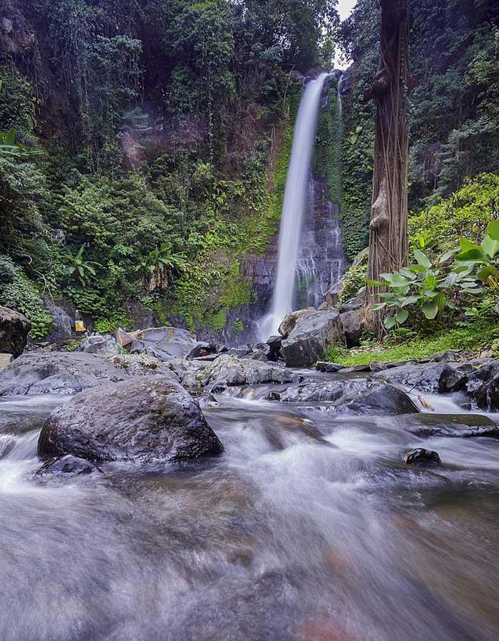 Fasilitas Wisata Gitgit Waterfall