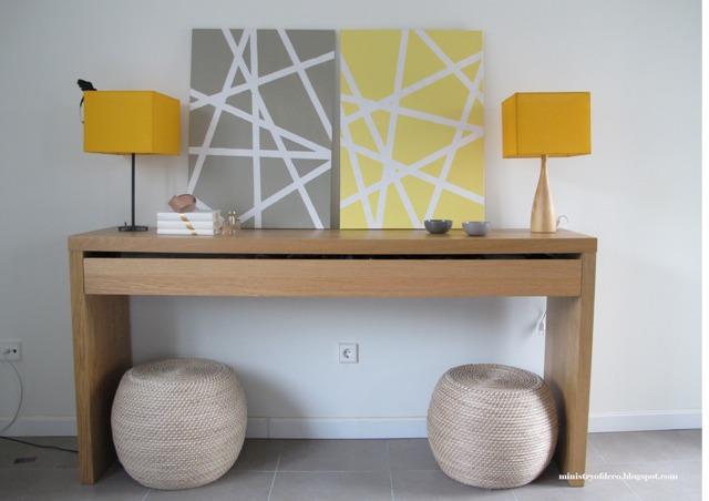 Blog achados de decora o fa a voc mesma quadro for Lienzos para salon modernos