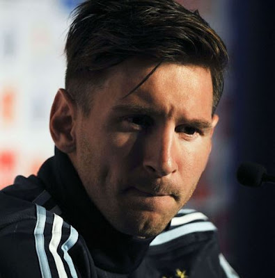 Model Rambut Lionel Messi
