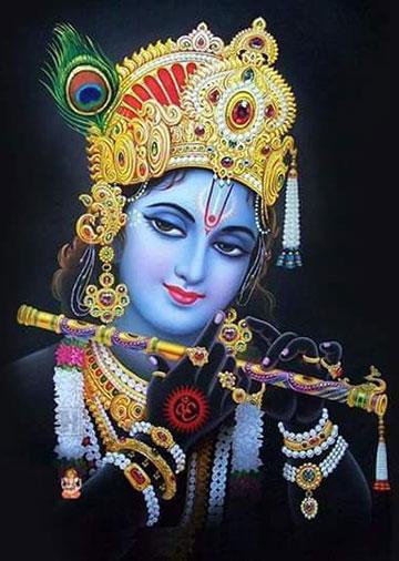 krishna bhagwan ka photo chahie
