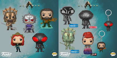 Aquaman Movie Pop! Series Vinyl Figures by Funko x DC Comics