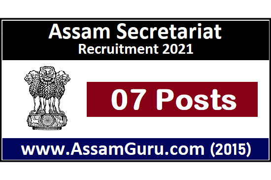 assam-secretariat-Job-2021