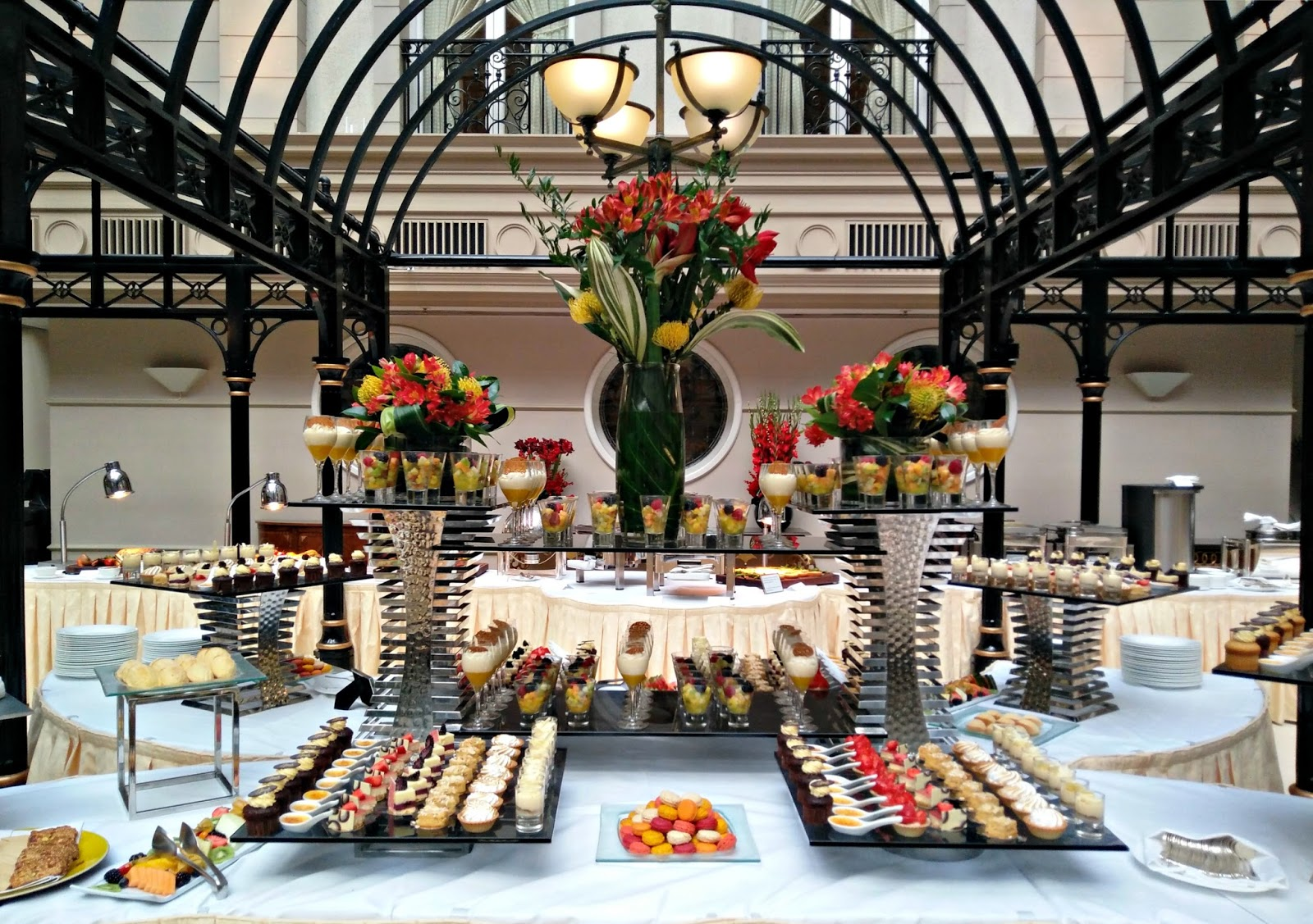 Champagne Sunday Brunch at the Landmark Hotel