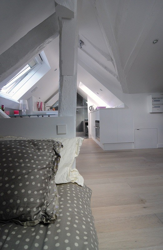Una vivienda pequeña de 16 m2 en París
