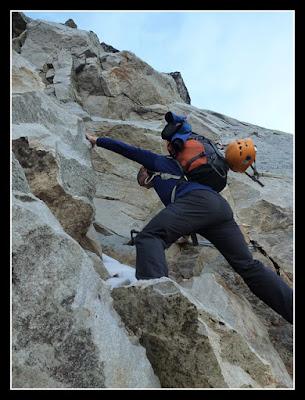 Subiendo a la cresta de Seil de la Baque