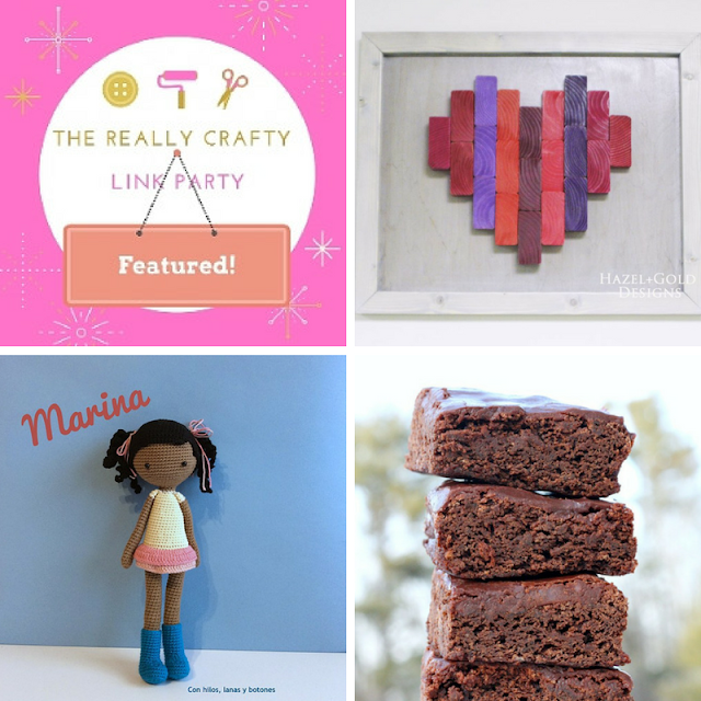 The Really Crafty Link Party #103 featured posts