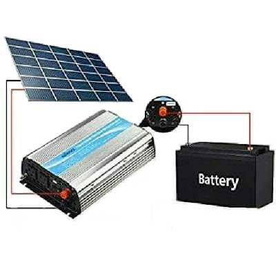 Giandel Voltage Converter (12~110V) with Built-in Solar Controller