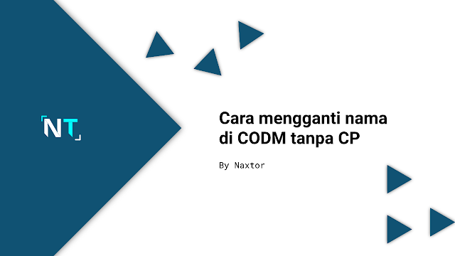 cara mengganti nama di CODM tanpa CP